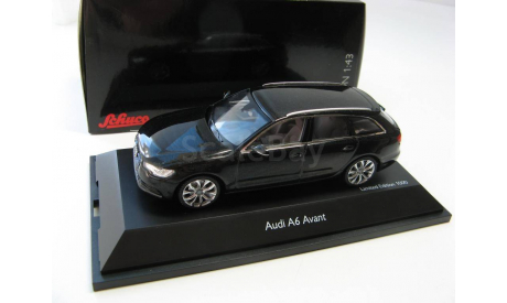 Audi A6 Avant black metallic 2012 г., масштабная модель, 1:43, 1/43, SCHUCO