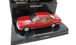 BENTLEY CONTINENTAL R 1996 RED METALLIC SALE!