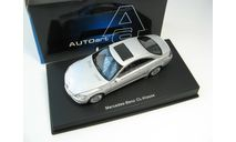 Mercedes-Benz CL Coupe (silver), масштабная модель, scale43, Autoart