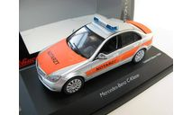 Mercedes Benz C-Klasse 'Notarzt' (пожарный) Редкий Шуко!, масштабная модель, Mercedes-Benz, Schuco, scale43