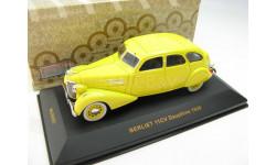 BERLIET 11CV Dauphine Yellow 1939 г. SALE!