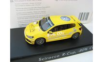 VW Scirocco R #1 Scirocco R-Cup, -80% CO2 2010 г., масштабная модель, 1:43, 1/43, Spark, Volkswagen