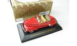 GRAHAM PAIGE ROADSTER 'SHARKNOSE' Red 1939 г. RARE!, масштабная модель, 1:43, 1/43, IXO Museum (серия MUS)