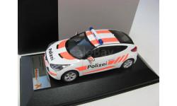 HYUNDAI VELOSTER 2012 'Swiss Polizei' (полиция Швейцарии) 2012 г., масштабная модель, 1:43, 1/43, Premium X