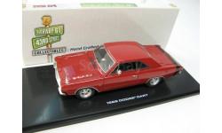 DODGE Dart GTS 1968 Charger Red, масштабная модель, 1:43, 1/43, Highway 61