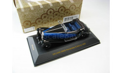 DELAGE D8SS Fernandez & Darrin Black/Blue 1932 г. SALE!, масштабная модель, 1:43, 1/43, IXO Museum (серия MUS)