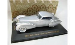 DELAGE D8 120-S POURTOUT AERO Coupe Silver 1937 г. SALE!