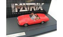 GHIA 450SS Convertible 1967 Red SALE!, масштабная модель, 1:43, 1/43, Matrix