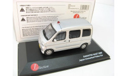 Daihatsu Hijet Japan Unmarked Police Car 2009 г. SALE!, масштабная модель, 1:43, 1/43, J-Collection