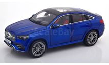 Mercedes-Benz GLE Coupe C167 2020 brilliant blue, масштабная модель, iScale, scale43