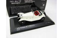 ALFA ROMEO 6C 1750 G.S.1930 White, масштабная модель, 1:43, 1/43, Minichamps