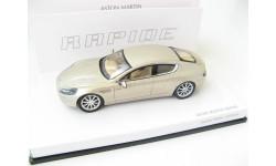 Aston Martin Rapide 2010 silver Blonde RARE!
