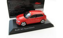 Audi A3 Sportback red 2012, масштабная модель, scale43, SCHUCO
