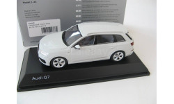 Audi Q7 glacier white2015 г. SALE!, масштабная модель, Spark, scale43