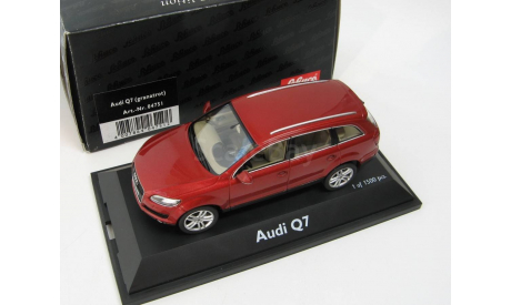 Audi Q7 granat red Редкий Шуко!, масштабная модель, scale43, SCHUCO