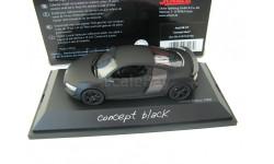 Audi R8 GT 'Сoncept black', масштабная модель, SCHUCO, scale43