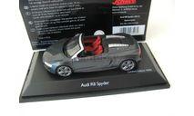 Audi R8 Spyder 2012 daytona grey. Редкий Шуко!, масштабная модель, scale43, Schuco