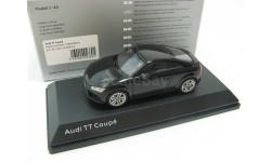 Audi TT Coupe myth black, масштабная модель, 1:43, 1/43, Kyosho