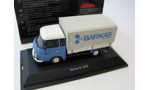 Barkas B1000 pick-up with canvas (грузовик с тентом), масштабная модель, 1:43, 1/43, Schuco