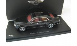 Bentley Mulsanne Speed 2014 onyx, масштабная модель, 1:43, 1/43, Kyosho