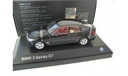 BMW 3er GT (F32) Construction 2013 black, масштабная модель, 1:43, 1/43, iScale