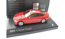 BMW 4 Series 4er Coupe F32 2013 melbourne red, масштабная модель, 1:43, 1/43, iScale