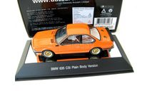 BMW 635 CSi Plain Body version (orange), масштабная модель, scale43, Autoart