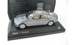 BMW 750Li (G12) arctic gray, масштабная модель, Paragon Models, scale43