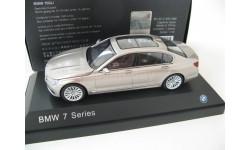 BMW 750Li (G12) cashmir silver, масштабная модель, 1:43, 1/43, Paragon Models