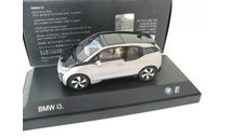 BMW i3 (i01) Construction 2013 andersit silver, масштабная модель, 1:43, 1/43, iScale