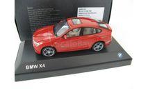 BMW X4 (F26) 2015 melboune red, масштабная модель, HERPA, scale43