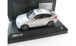 BMW X4 (F26) 2015 silver, масштабная модель, 1:43, 1/43, HERPA