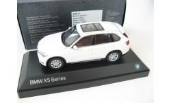 BMW X5 Series (F15) alpine white, масштабная модель, Paragon Models, scale43