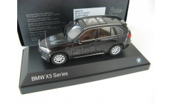 BMW X5 Series (F15) sapphire black, масштабная модель, Paragon Models, scale43