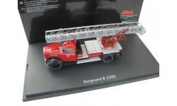 Borgward B 2500 Feuerwehr mit Drehleiter 'Stadt Mayen'. Редкий Шуко!
