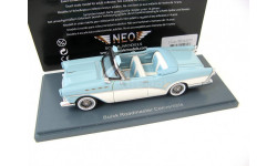Buick Roadmaster Convertible light blue/white, масштабная модель, Neo Scale Models, scale43