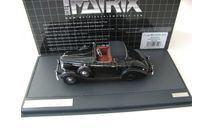 Buick Series 40 Lancefield Drop Head 1938 black, масштабная модель, Matrix, scale43