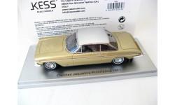 Cadillac Brougham Jaqueline Pininfarina 1961 gold/silver