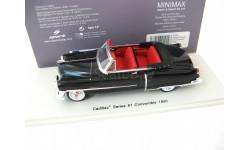 Cadillac Series 61 Convertible 1950 (black), масштабная модель, Spark, scale43