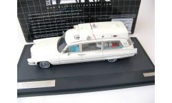 CADILLAC Superior 51+ 'Ambulance' (скорая помощь) 1970 White, масштабная модель, 1:43, 1/43, Matrix
