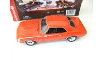 Chevrolet Camaro SS 1969 orange 1:24, масштабная модель, 1:43, 1/43, ERTL (Auto World)