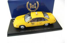 Chevrolet Caprice Sedan, taxi (USA) New York City, масштабная модель, Best оf Show, scale43