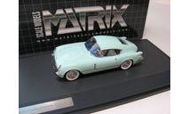 CHEVROLET CORVETTE Corvair Concept Coupe 1954 Light Green SALE!, масштабная модель, 1:43, 1/43, Matrix
