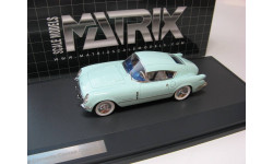 CHEVROLET CORVETTE Corvair Concept Coupe 1954 Light Green, масштабная модель, 1:43, 1/43, Matrix