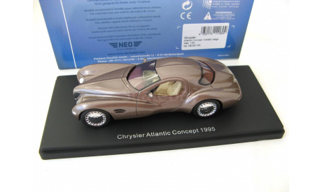 Chrysler Atlantic Concept 1995 beige metallic SALE!, масштабная модель, scale43, Neo Scale Models