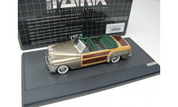 CHRYSLER Town & Country Convertible 1949 Silver, масштабная модель, 1:43, 1/43, Matrix