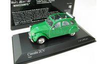 CITROËN 2CV 1980 GREEN, масштабная модель, scale43, Minichamps