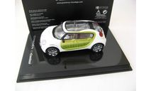 Citroen C-Cactus Concept 2014 white/lime metallic, масштабная модель, Norev, Citroën, scale43