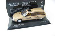 CITROËN CX Break 1980 Gold metallic, масштабная модель, Minichamps, scale43