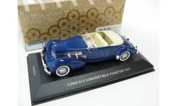 CORD 812 CONVERTIBLE PHAETON Blue 1937 г.